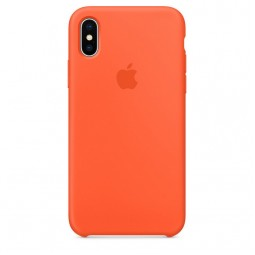 Apple iPhone X Silicone Case - Spicy Orange (MR6F2)