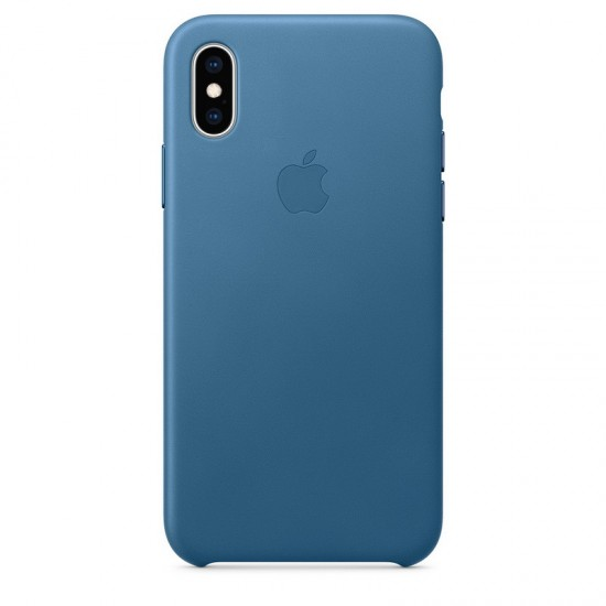 Apple iPhone XS Max Leather Case - Cape Cod Blue (MTET2)