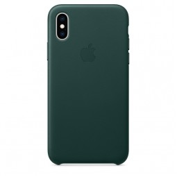 Apple iPhone XS Max Leather Case - Forest Green (MTER2)