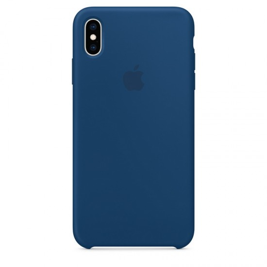 Apple iPhone XS Max Silicone Case - Blue Horizon (MTFE2)