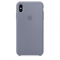 Apple iPhone XS Max Silicone Case - Lavender Gray (MTFH2)