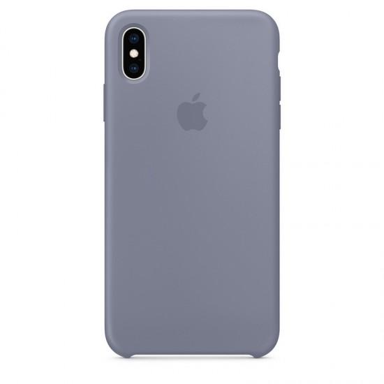 Apple iPhone XS Max Silicone Case - Lavender Gray (MTFH2)