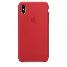 Apple iPhone XS Max Silicone Case - (PRODUCT) RED (MRWH2)