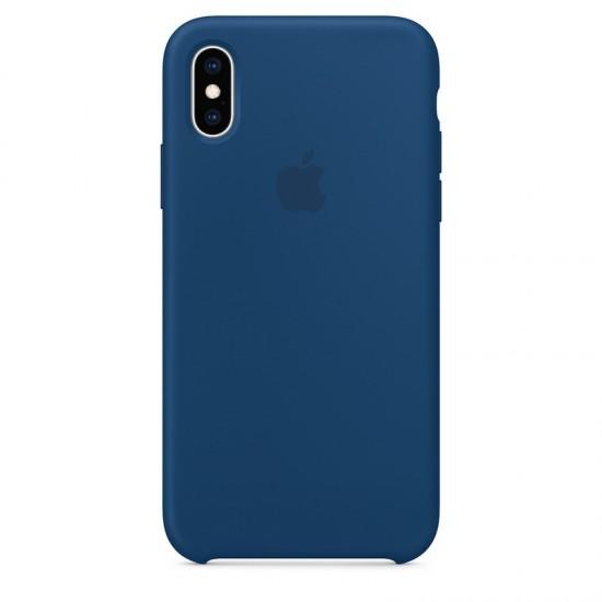 Apple iPhone XS Silicone Case - Blue Horizon (MTF92)