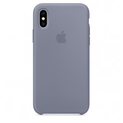 Apple iPhone XS Silicone Case - Lavender Gray (MTFC2)
