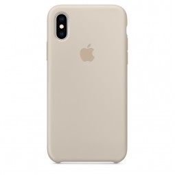 Apple iPhone XS Silicone Case - Stone (MRWD2)